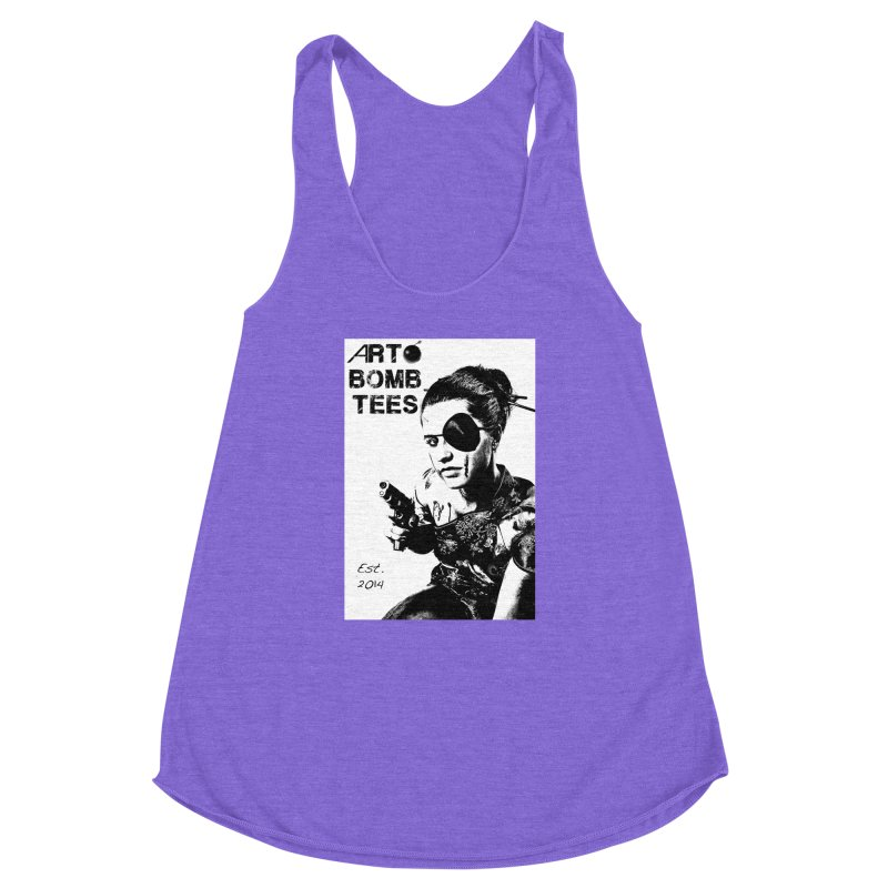 Army of One Part 2 Women's Racerback Triblend Tank by artbombtees's Artist Shop