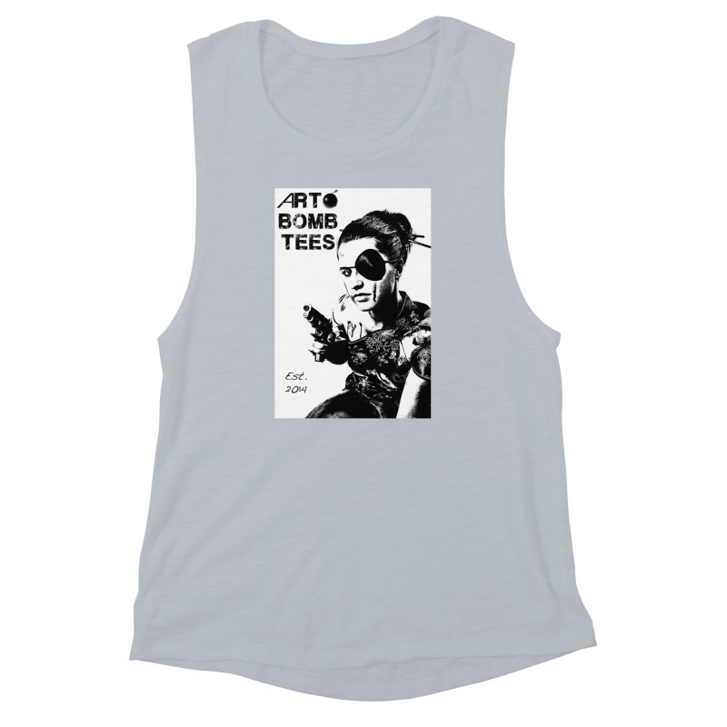 Army of One Part 2 Women's Muscle Tank by artbombtees's Artist Shop
