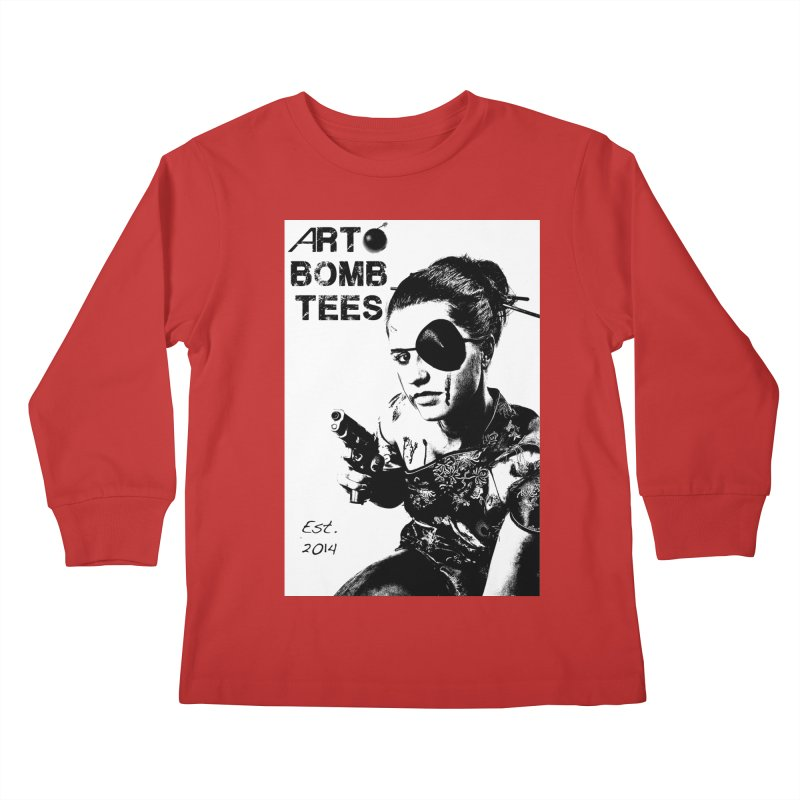 Army of One Part 2 Kids Longsleeve T-Shirt by artbombtees's Artist Shop