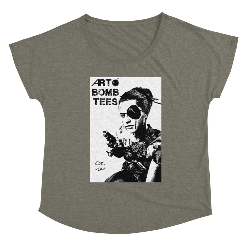 Army of One Part 2 Women's Scoop Neck by artbombtees's Artist Shop