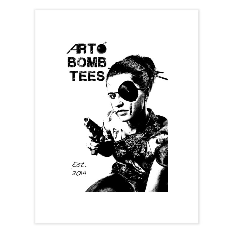 Army of One Part 2 Home Fine Art Print by artbombtees's Artist Shop