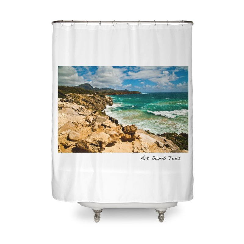 Paradise Calling in Shower Curtain by artbombtees's Artist Shop
