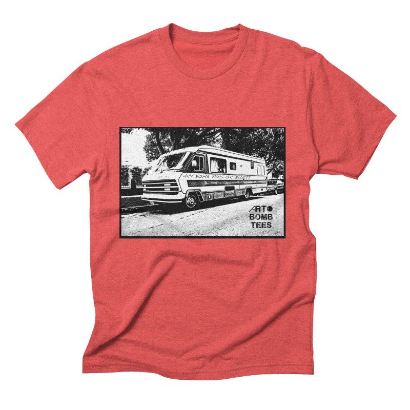 Art Bomb Tees or Bust Men's Triblend T-Shirt by artbombtees's Artist Shop