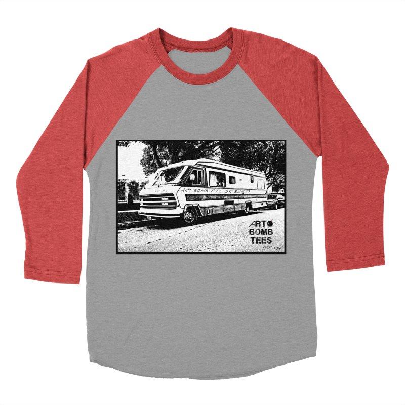 Art Bomb Tees or Bust Men's Baseball Triblend T-Shirt by artbombtees's Artist Shop