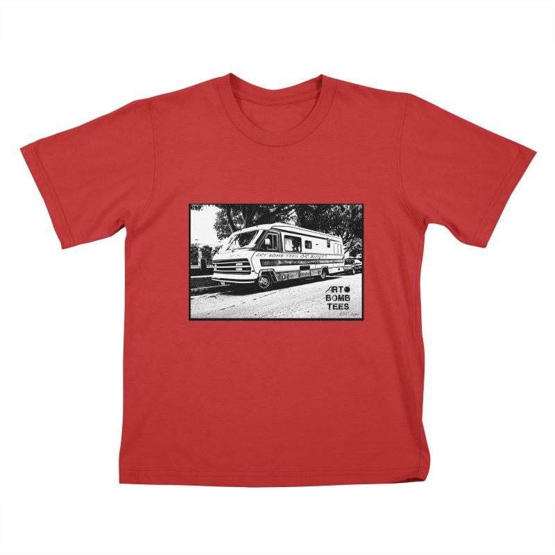 Art Bomb Tees or Bust Kids T-Shirt by artbombtees's Artist Shop