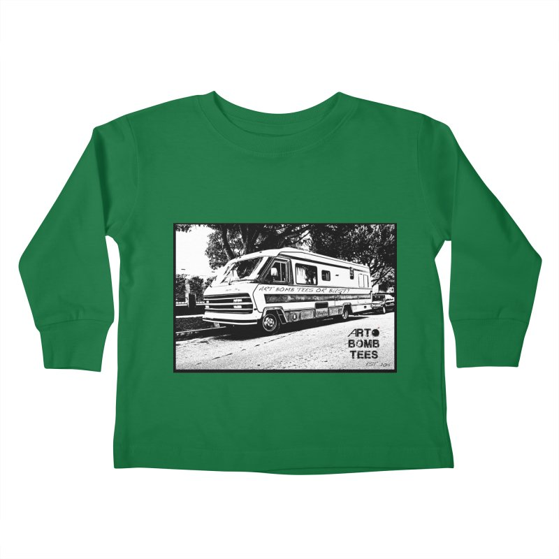 Art Bomb Tees or Bust Kids Toddler Longsleeve T-Shirt by artbombtees's Artist Shop