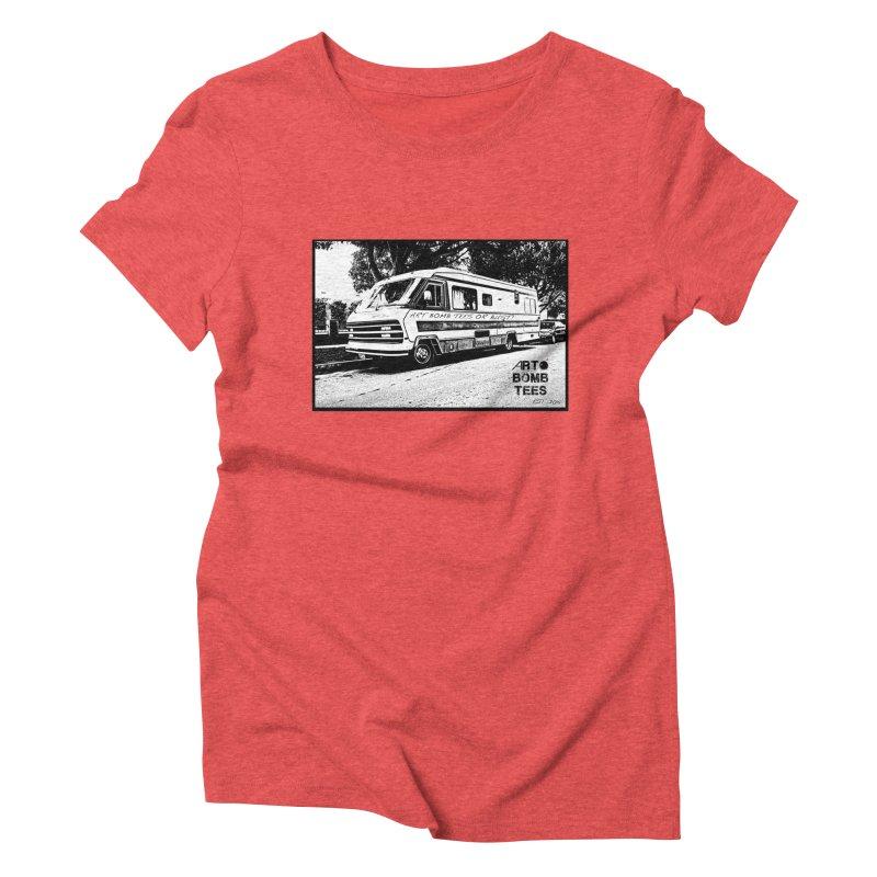 Art Bomb Tees or Bust Women's Triblend T-Shirt by artbombtees's Artist Shop