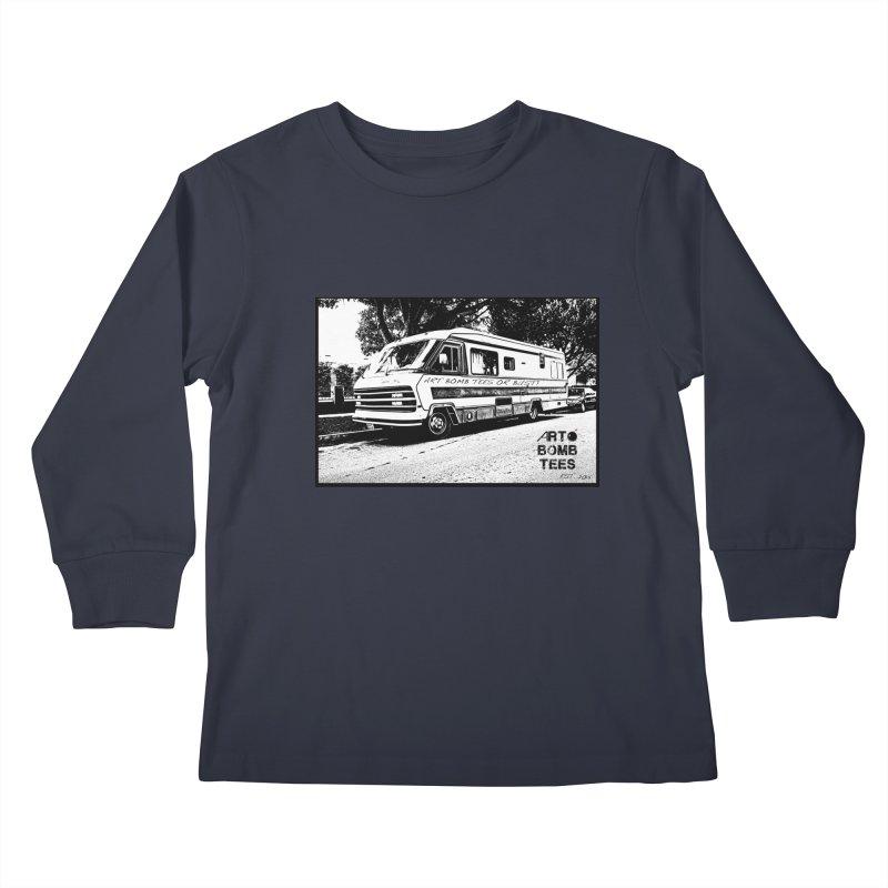 Art Bomb Tees or Bust Kids Longsleeve T-Shirt by artbombtees's Artist Shop
