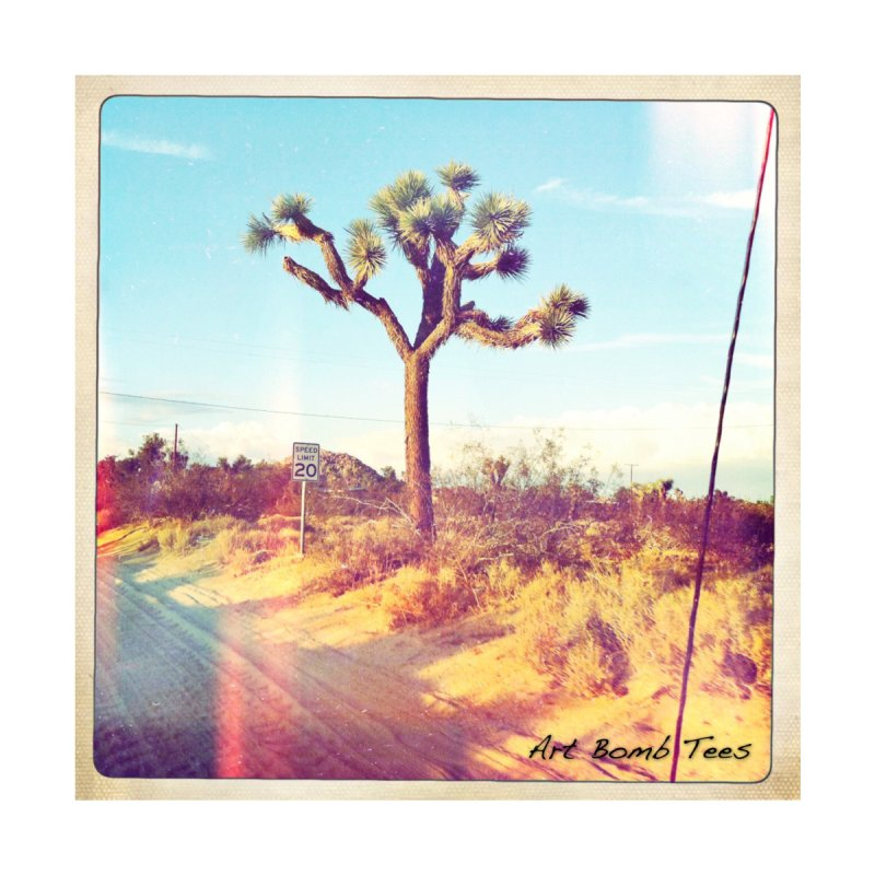 Desert Roads Home Framed Fine Art Print by artbombtees's Artist Shop