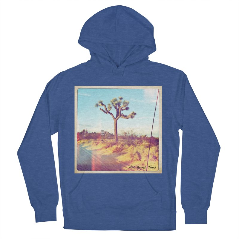 Desert Roads Women's French Terry Pullover Hoody by artbombtees's Artist Shop