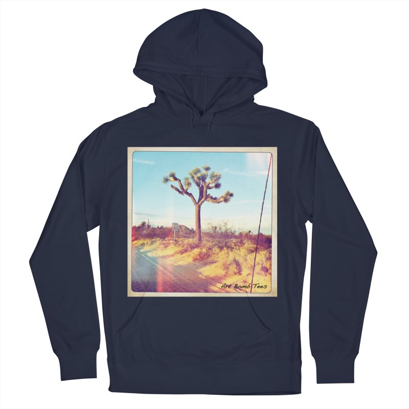 Desert Roads Men's French Terry Pullover Hoody by artbombtees's Artist Shop