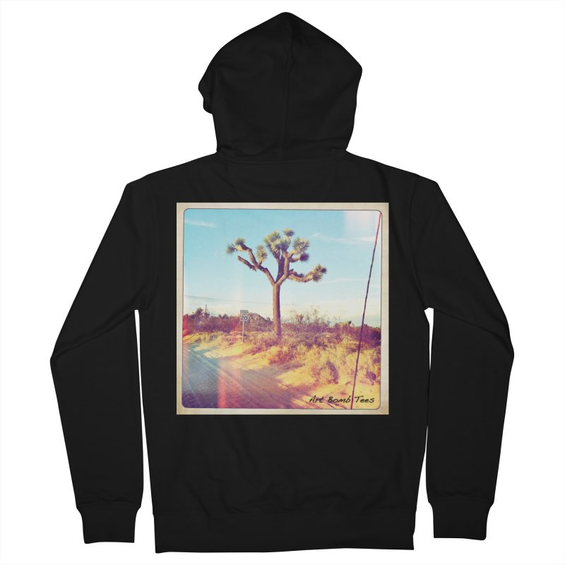 Desert Roads Women's Zip-Up Hoody by artbombtees's Artist Shop