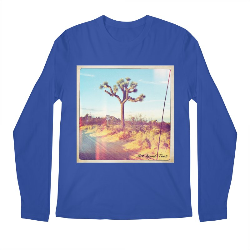 Desert Roads Men's Regular Longsleeve T-Shirt by artbombtees's Artist Shop