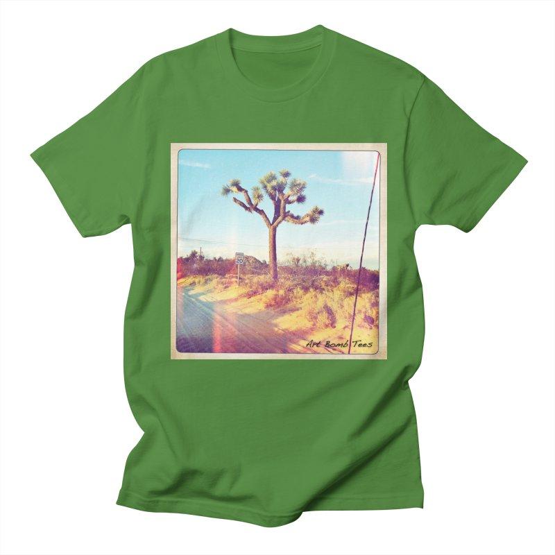 Desert Roads Men's T-Shirt by artbombtees's Artist Shop