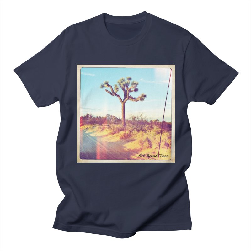 Desert Roads Men's T-Shirt by artbombtees's Artist Shop
