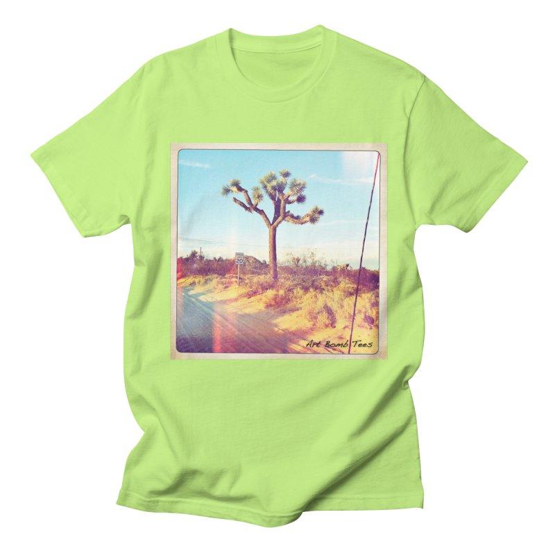 Desert Roads Men's Regular T-Shirt by artbombtees's Artist Shop