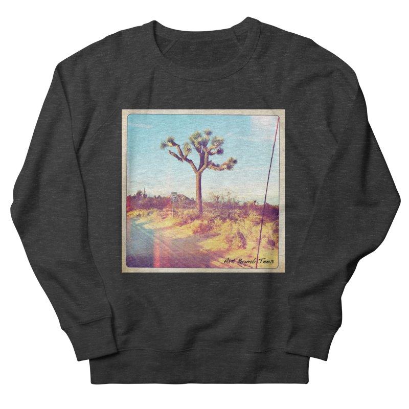 Desert Roads Men's French Terry Sweatshirt by artbombtees's Artist Shop