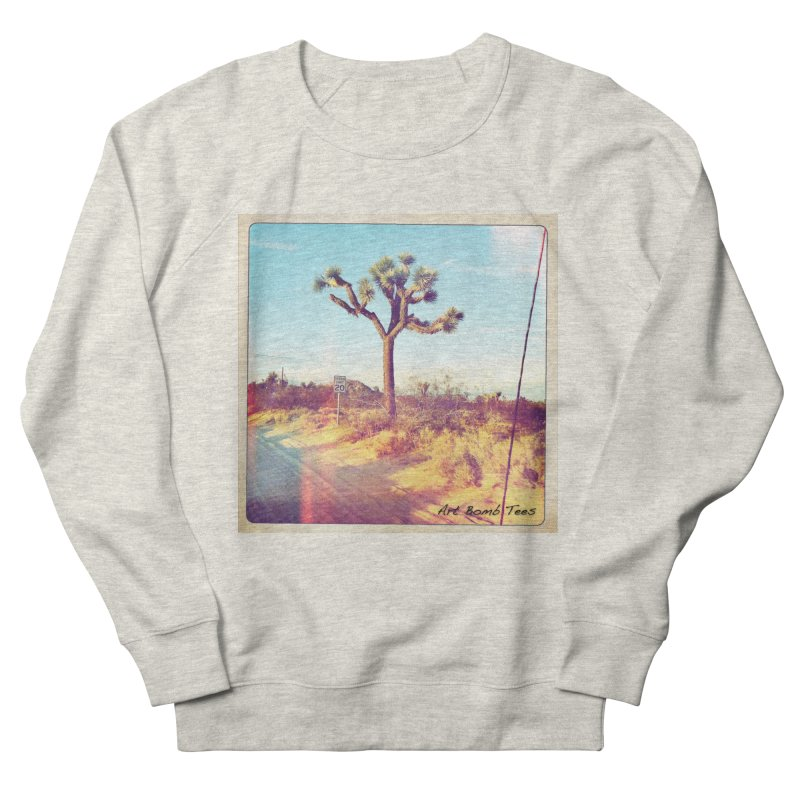 Desert Roads Men's Sweatshirt by artbombtees's Artist Shop