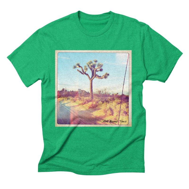 Desert Roads Men's Triblend T-Shirt by artbombtees's Artist Shop