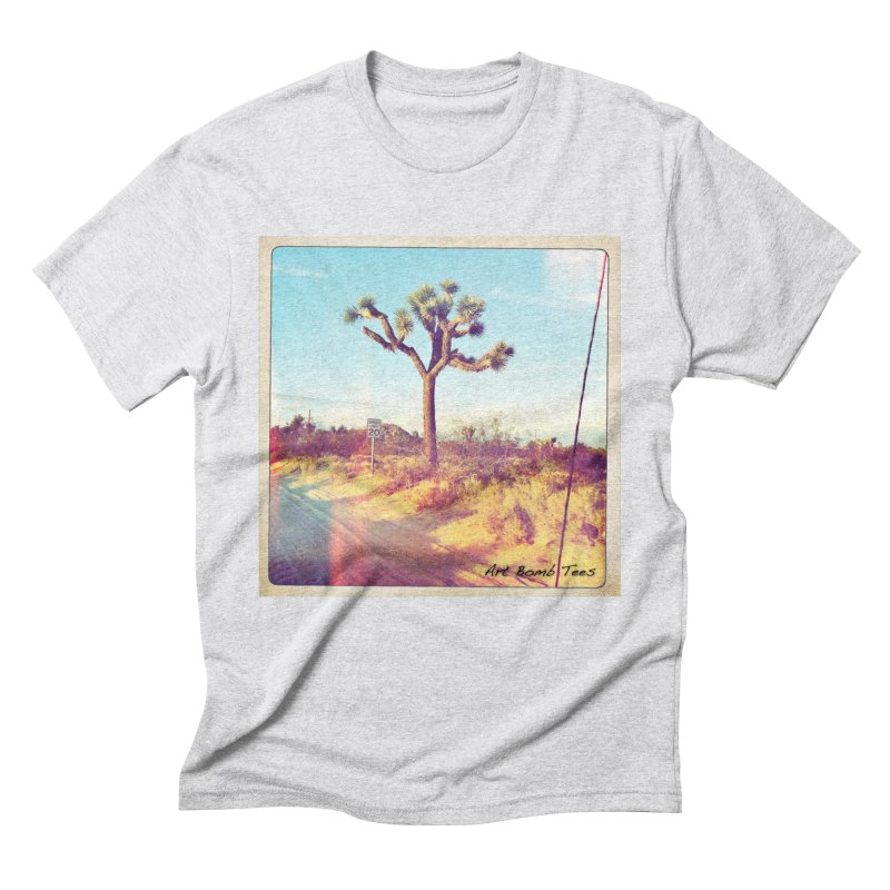 Desert Roads Men's Triblend T-Shirt by artbombtees's Artist Shop