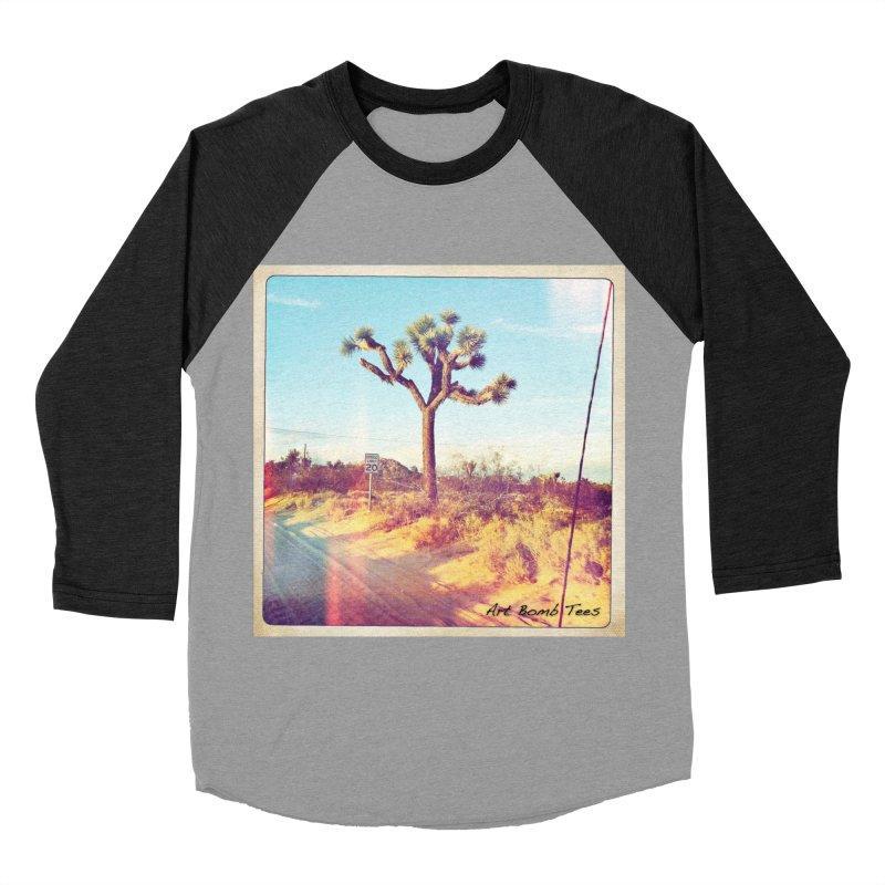 Desert Roads Women's Baseball Triblend Longsleeve T-Shirt by artbombtees's Artist Shop