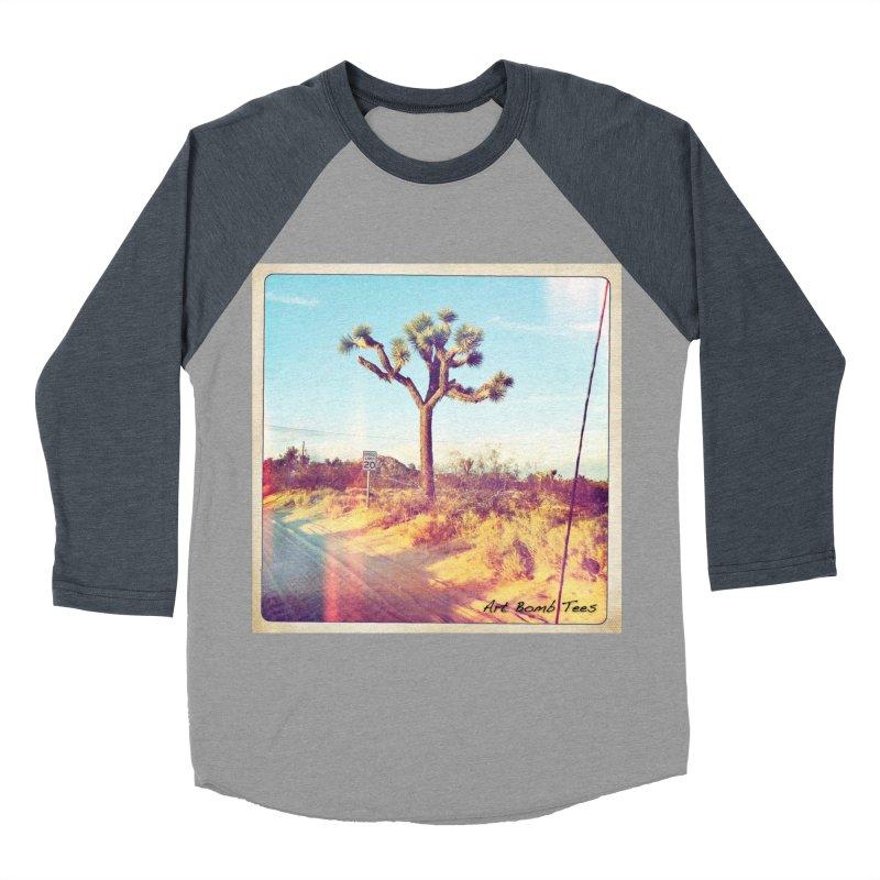 Desert Roads Men's Baseball Triblend Longsleeve T-Shirt by artbombtees's Artist Shop