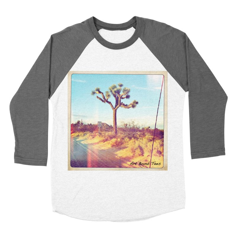 Desert Roads Men's Baseball Triblend T-Shirt by artbombtees's Artist Shop