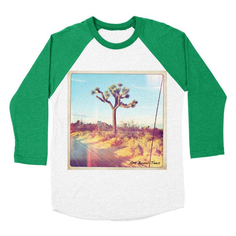 Desert Roads Men's Baseball Triblend T-Shirt by artbombtees's Artist Shop