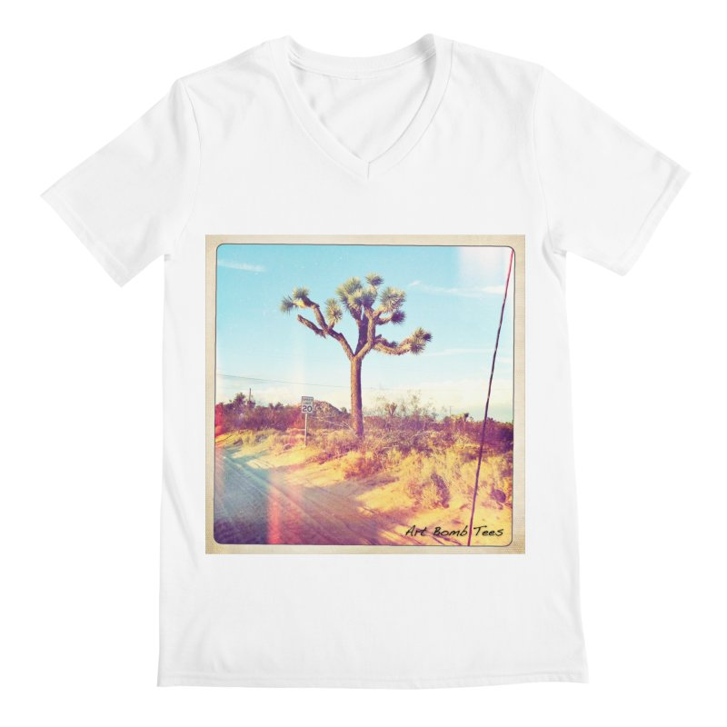 Desert Roads Men's V-Neck by artbombtees's Artist Shop