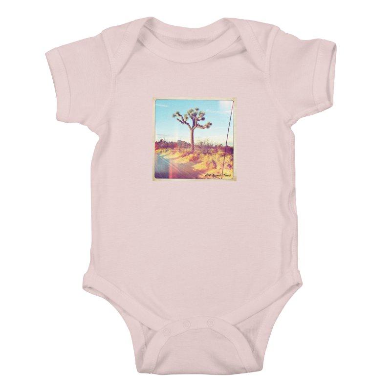 Desert Roads Kids Baby Bodysuit by artbombtees's Artist Shop