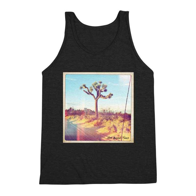 Desert Roads Men's Tank by artbombtees's Artist Shop
