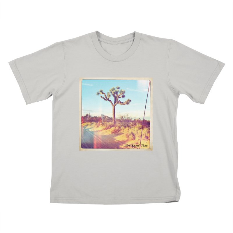 Desert Roads Kids T-Shirt by artbombtees's Artist Shop