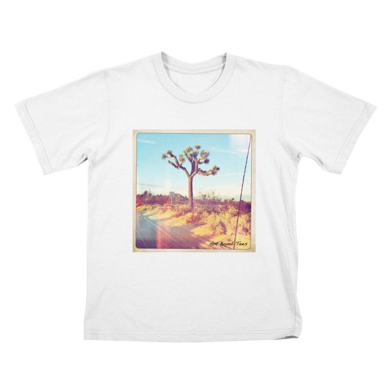 Desert Roads Kids T-Shirt by artbombtees's Artist Shop