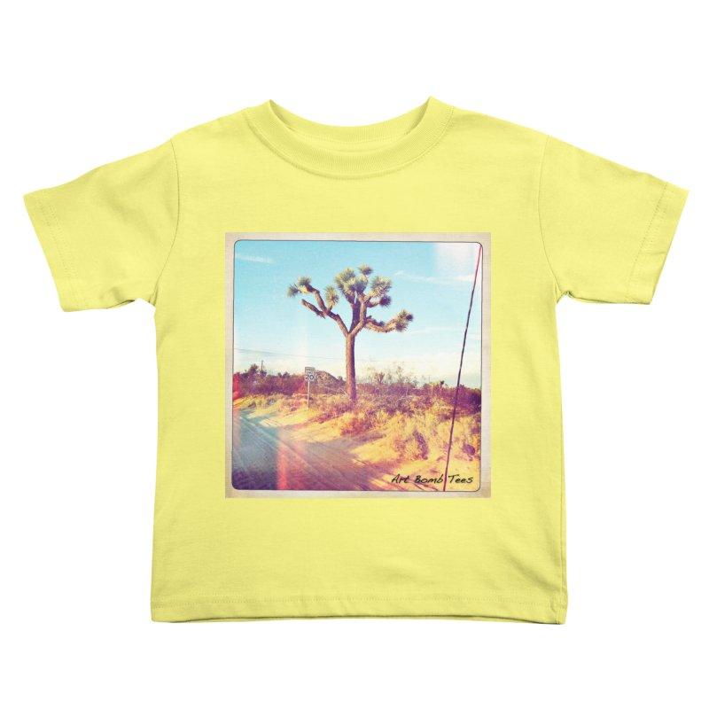 Desert Roads Kids Toddler T-Shirt by artbombtees's Artist Shop