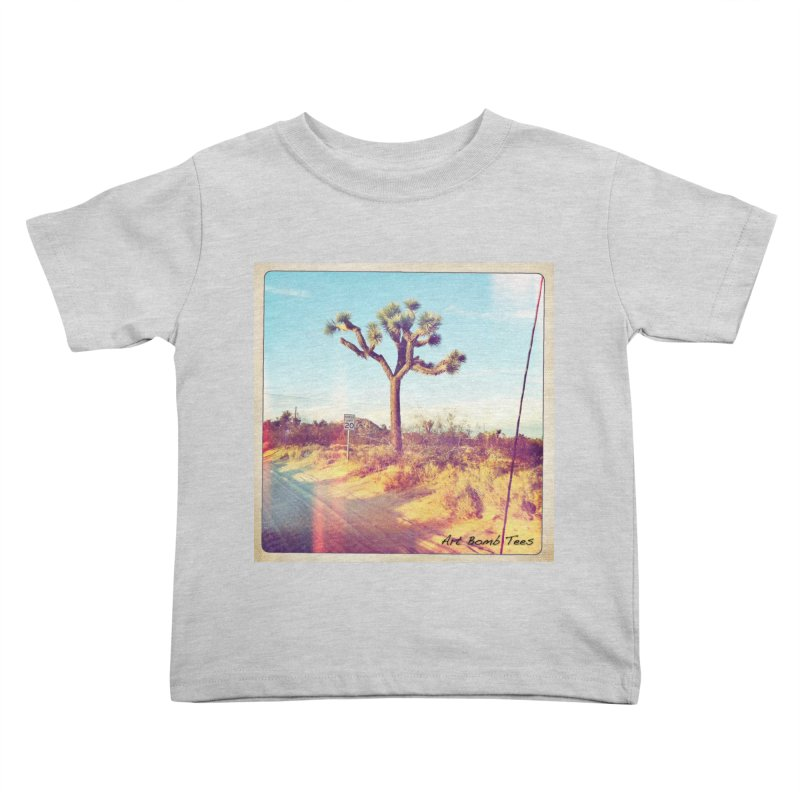 Desert Roads Kids Toddler T-Shirt by artbombtees's Artist Shop