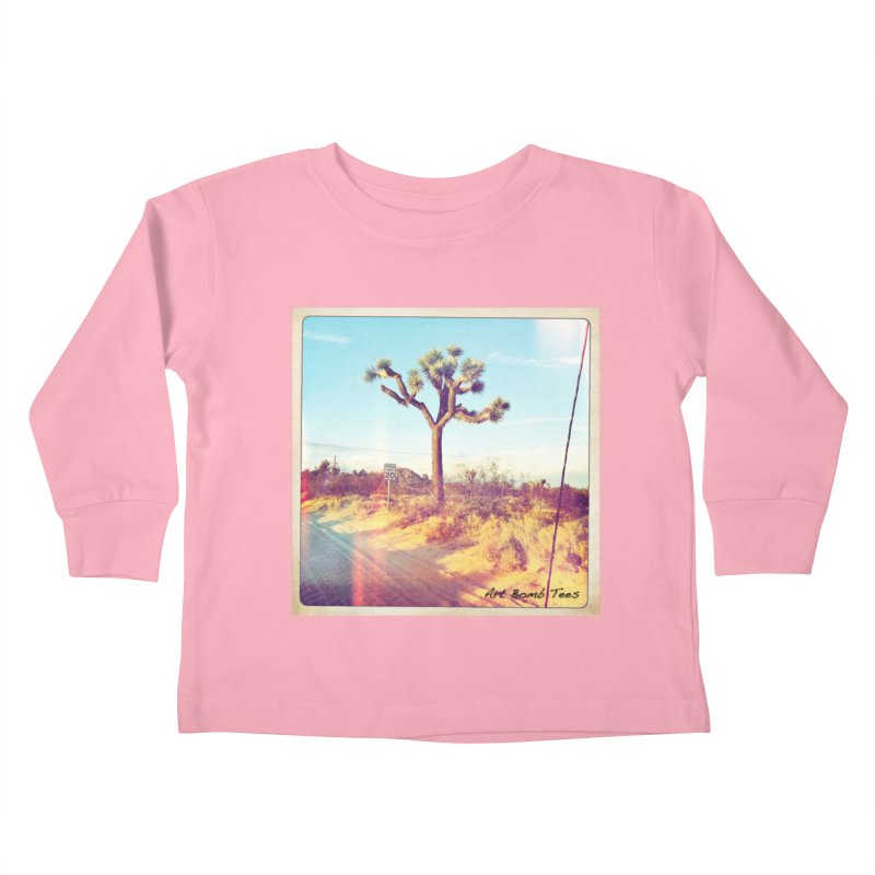 Desert Roads Kids Toddler Longsleeve T-Shirt by artbombtees's Artist Shop