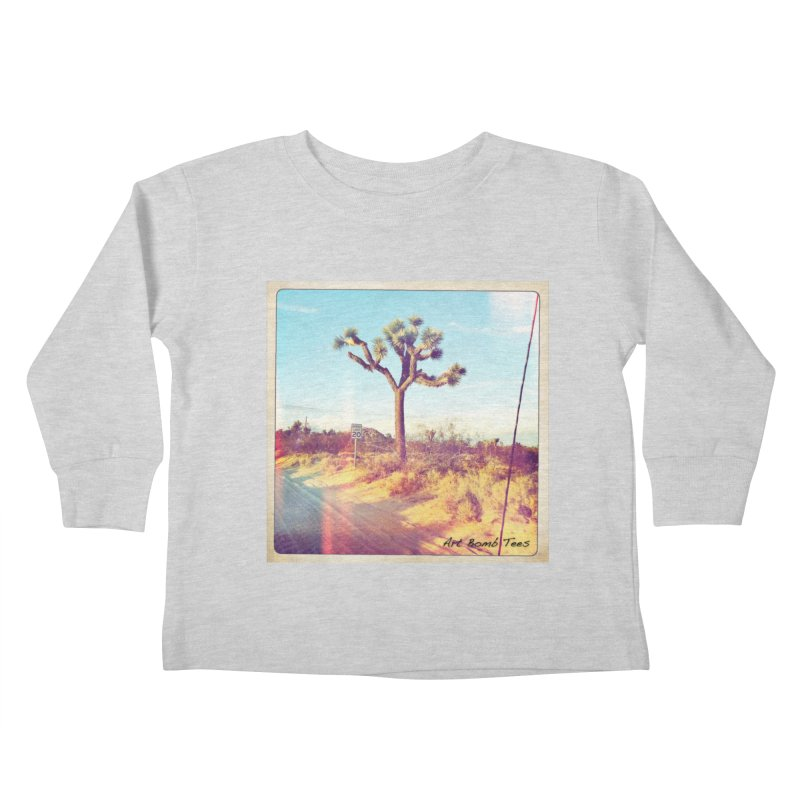 Desert Roads Kids Toddler Longsleeve T-Shirt by artbombtees's Artist Shop