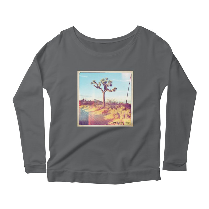 Desert Roads Women's Longsleeve T-Shirt by artbombtees's Artist Shop