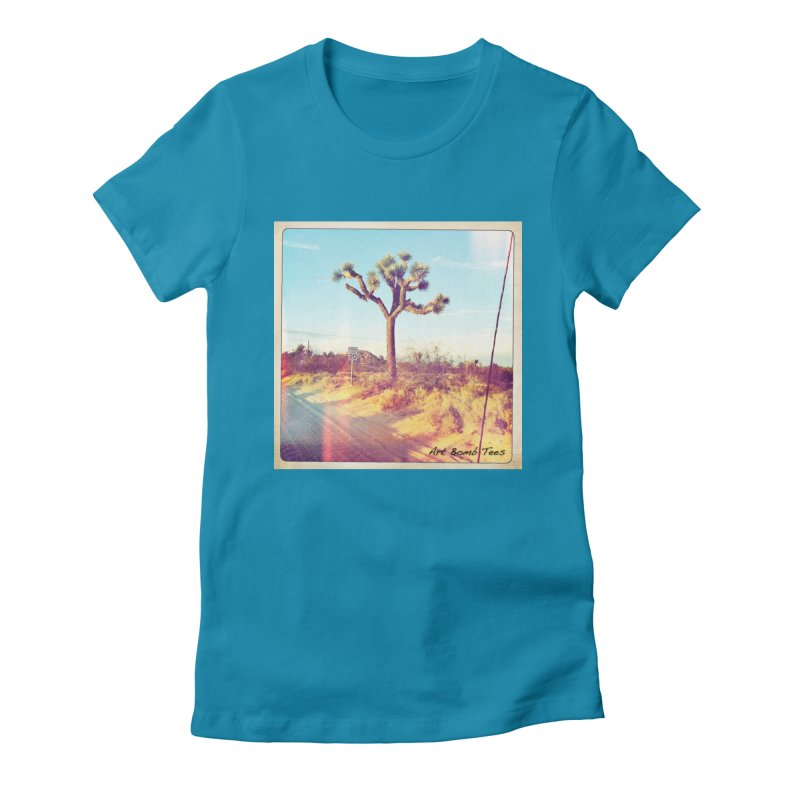 Desert Roads Women's T-Shirt by artbombtees's Artist Shop