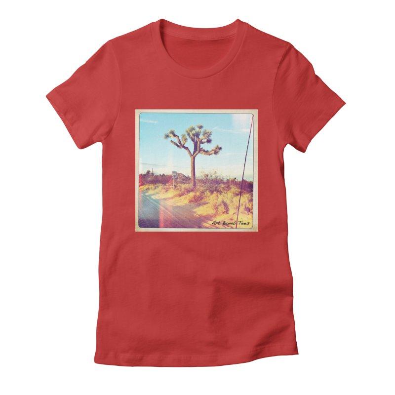 Desert Roads Women's T-Shirt by artbombtees's Artist Shop