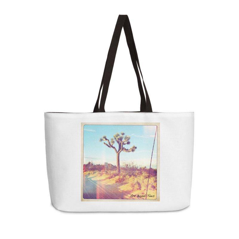 Desert Roads Accessories Bag by artbombtees's Artist Shop