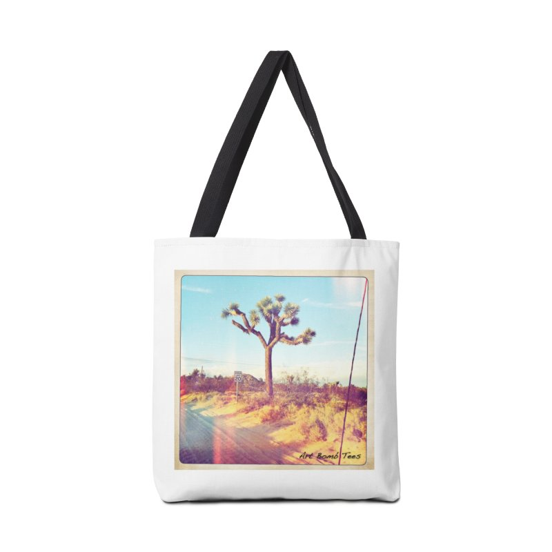 Desert Roads Accessories Tote Bag Bag by artbombtees's Artist Shop
