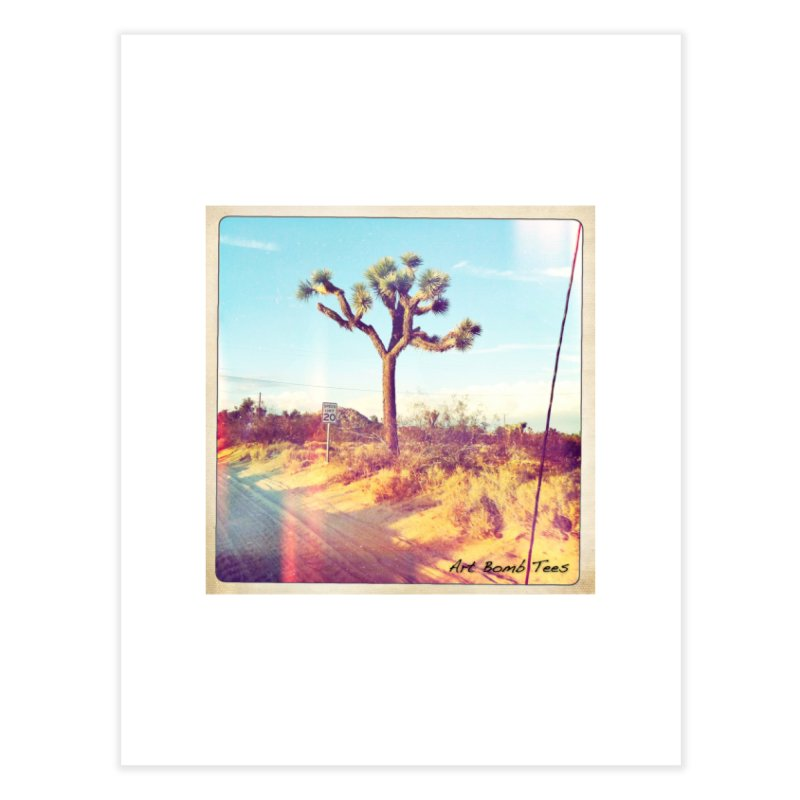 Desert Roads Home Fine Art Print by artbombtees's Artist Shop