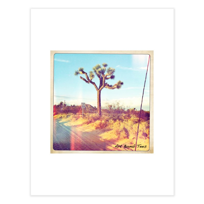 Desert Roads Home Fine Art Print by artbombtees's Artist Shop