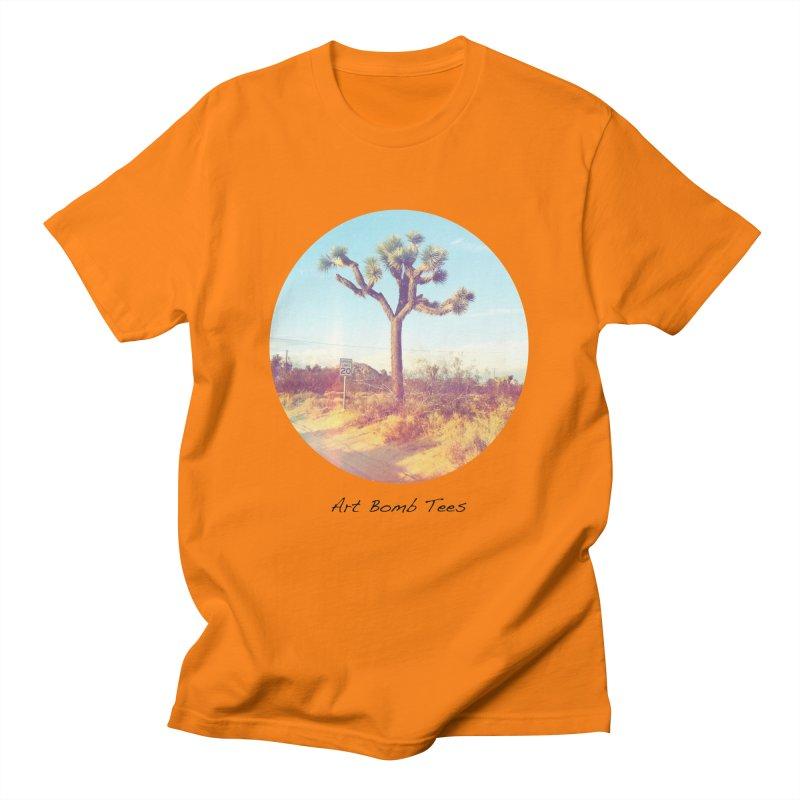 Desert Roads - Circular Men's T-Shirt by artbombtees's Artist Shop