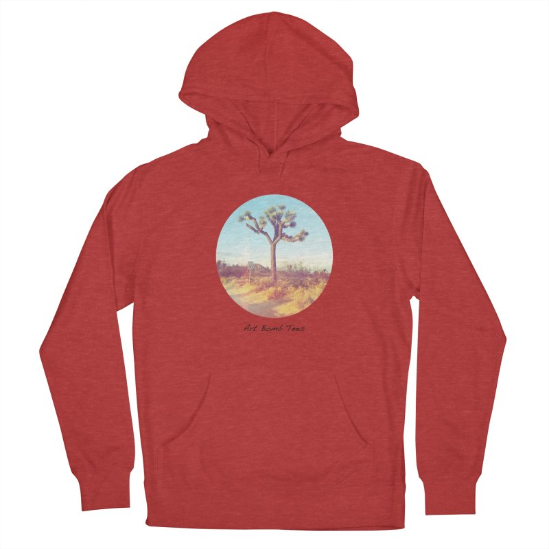 Desert Roads - Circular Women's French Terry Pullover Hoody by artbombtees's Artist Shop