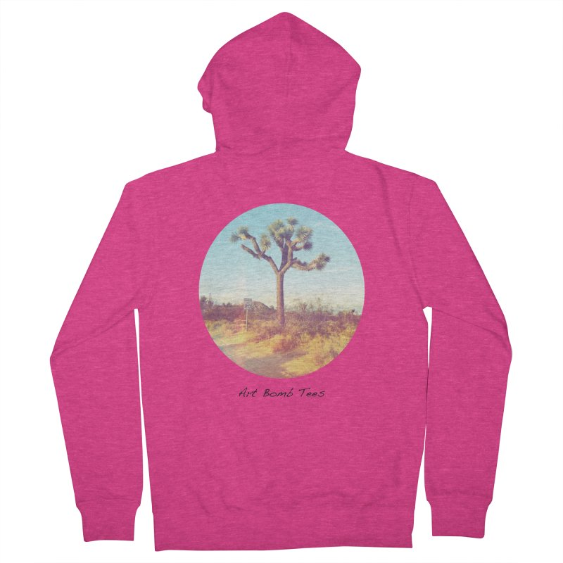 Desert Roads - Circular Women's Zip-Up Hoody by artbombtees's Artist Shop