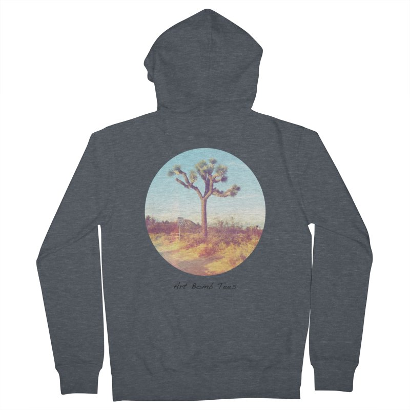 Desert Roads - Circular Men's Zip-Up Hoody by artbombtees's Artist Shop