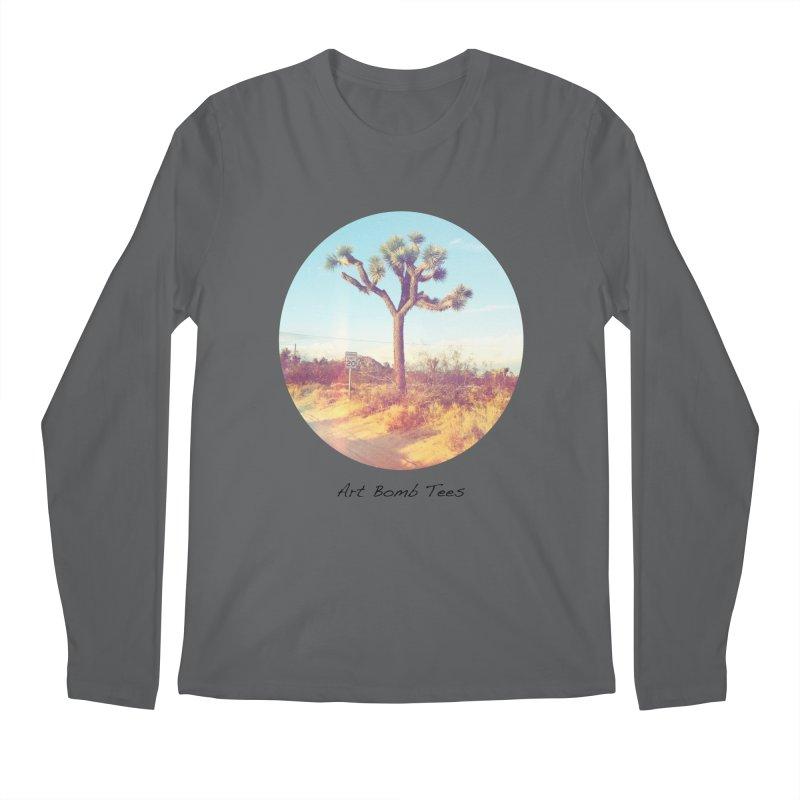 Desert Roads - Circular Men's Longsleeve T-Shirt by artbombtees's Artist Shop
