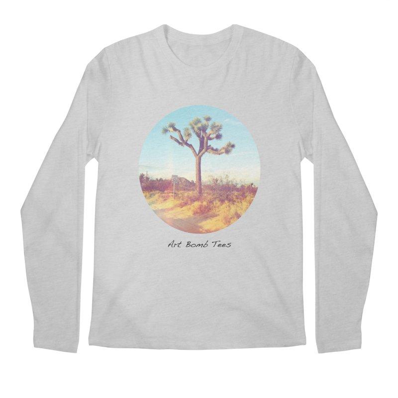Desert Roads - Circular Men's Regular Longsleeve T-Shirt by artbombtees's Artist Shop